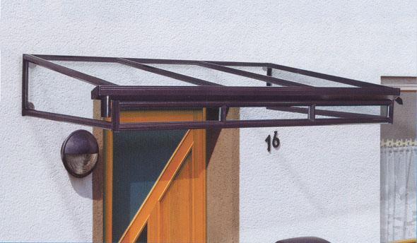 Навесы из металлопрофиля для крыльца своими руками 89